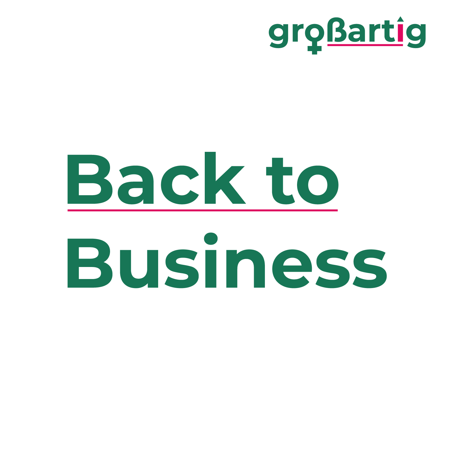 back to business - Tagesseminar - Bielefeld - Seminar:  20.08.2022